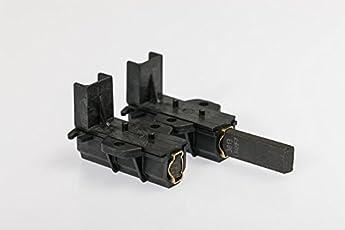 daniplus© Motorkohle, Kohlebürste mit Halter 2 Stück passend für Candy Hoover Haier Motor - 49028928