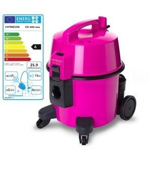 HITACHI CV-400 - ECO Werkstattsauger pink der neue Klassiker ohne Tüte