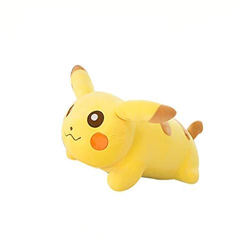 Xqypyl morbido pikachu peluche giocattoli cuscino san valentino compleanno regalo giallo 50cm-90cm,yellow,50cm