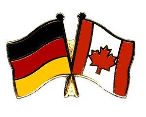 Yantec Freundschaftspin Pin Deutschland Kanada