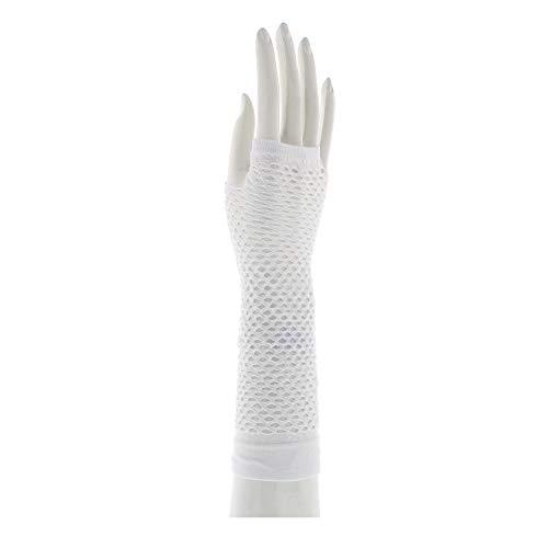 Zac 's Alter Ego®–Lange Fishnet Handschuhe ohne Finger -