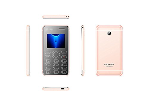 KECHODA K66 PLUS DUAL SIM WITH CAMERA ROSE GOLD
