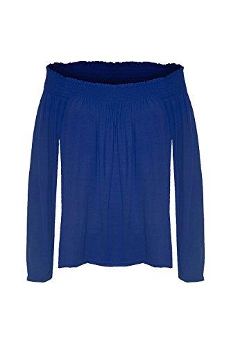 Oops Outlet - Canotta -  donna Königsblau - Mädchen Fashion stylisch Übergrößen