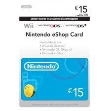 Nintendo eShop Card 15,00 Nintendo eShop Card 15,