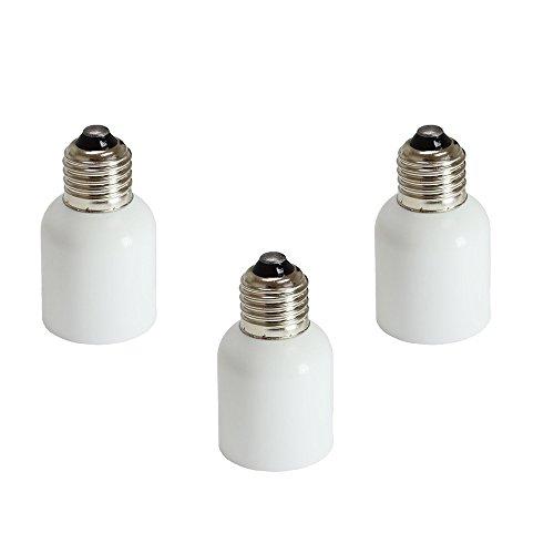 fineled E27Standard-Basis zu Mogul Goliath E39E40Adapter, diese Adapter, um stecken eine E39/E40Leuchtmittel in eine Standard E27Fassung/Leuchtmittel - E26 Standard Schraube Basis