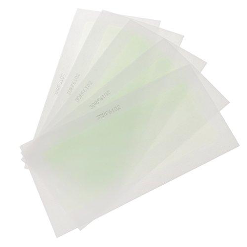 Baosity Bandes De Cire Froide D'épilation Faciale De Corps De Jambe De 10pcs Double Cirer Le Papier Latéral