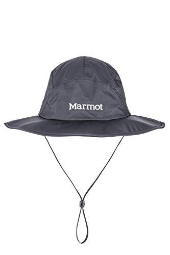 Marmot PreCip Eco Safari, Cappello da Sole Unisex – Adulto, Black, L
