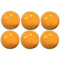 Juego de bolas de billar amarillo