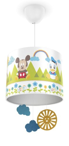 Philips e disney mickey mouse lampada a sospensione 2d, bianco