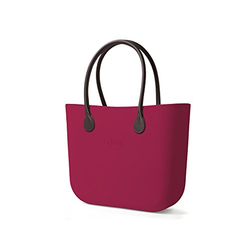 Preisvergleich Produktbild Tasche oder Bag Violett mit Griffen und Innentasche