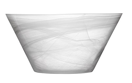 SeaGlassware Bol de Service, Blanc, 0.1 x 0.1 x 0.1 cm