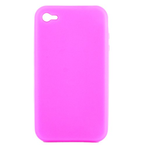 Film de protection d'écran pour Apple iPhone 4 / 4S /4G - Transparent Simple - Rose