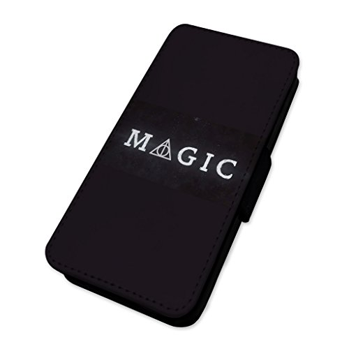 Magic always–Custodia ad aletta in pelle copertura di carta Apple iPhone 6/6S