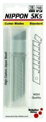 Schuller Eh'klar 30553 Lot de 10 Lames cutter 18 mm