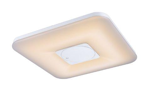 LED 35 Watt Deckenleuchte Deckenlampe Lampe Metall weiß Lichtfarbe dimmbar Fernbedienung Globo 41323