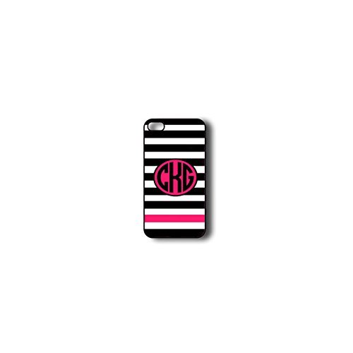 Krezy Case Monogram iPhone 6 Case, Colorful stripes Pattern Monogram iPhone 6 Case, Monogram iPhone 6 Case, iPhone 6 Case Cover