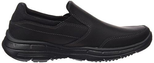 Skechers Glides-Calculous, Chaussures de Running Homme, Marron Noir (Black)