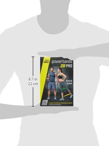 Powerbands Fitness Bänder Letsbands Set Pro, ART002645