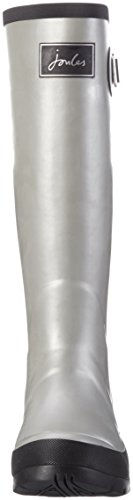 Tom Joule Damen Field Welly Langschaft Gummistiefel Silber (Silver)
