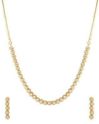 Voylla Chain for Women (Golden)(8907617187914)