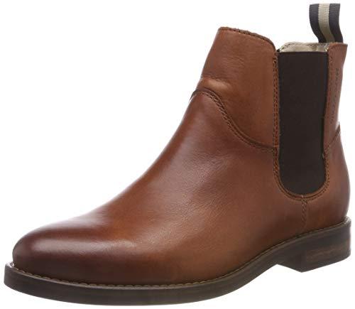 Marc O\'Polo Damen Chelsea Boots, Braun (Cognac 720), 40 EU