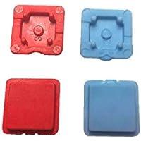 Button for Cobra Hisec Handheld Transmitter 7727 (2x Blue 2x