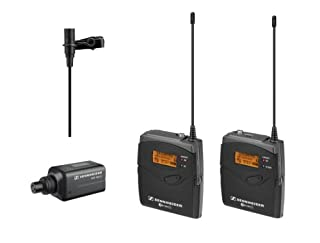 Sennheiser EW 100-ENG G3-GB Portable System with Bodypack Transmitter and ME 2 Omni Lapel Mic / Plug-On Transmitter / Camera-Mount Diversity Receiver (B0041ORW1Q) | Amazon price tracker / tracking, Amazon price history charts, Amazon price watches, Amazon price drop alerts