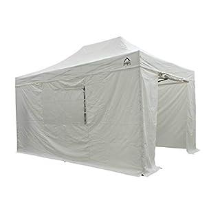 All Seasons Gazebos 3x4.5m Waterproof Pop up Gazebo - White (Premium Sides)