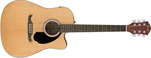 Fender FA-125CE Dreadnought Natural Acústica