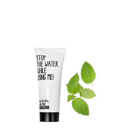 STOP THE WATER WHILE USING ME! - All Natural Wild Mint Toothpaste - Minze Zahnpasta - Naturkosmetik - 75ml