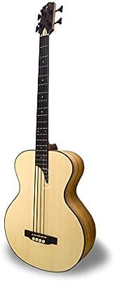 APC BG300 KOA MX - Bajo Guitarra acústica - Boca lateral