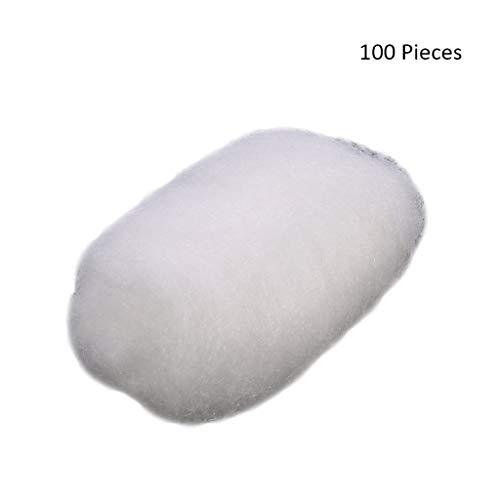 100 pcs Visage Démaquillants Coton Ball Désinfection Maquillage Lotions Démaquillantes Huiles Vernis À Ongles Cosmétiques Enlèvement Balles