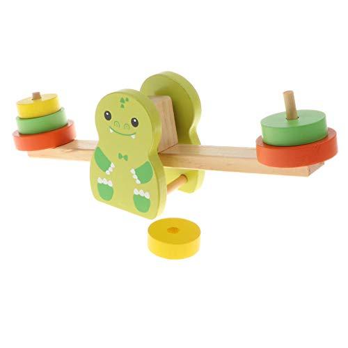 cierspiel Wippe Konzentrationsspiel Montessori Motorikspielzeug für Kinder ab 3 Jahren ()