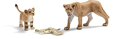Schleich Lioness and Cub Set
