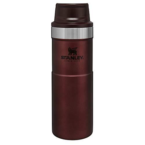 Stanley Unisex-Erwachsene Classic Trigger-Action Travel Mug Reisetasse, Wein, 16 oz