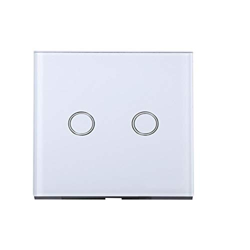 Richer-R Interruptor Táctil,Inteligente Interruptor Táctil de Pared,Smart Switch Interruptor de Luz con...