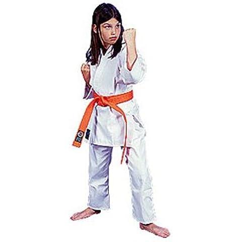 6 onza ProForce. 100% algodón uniforme de estudiante - blanco (tradicional) tamaño 3 (5' 15,24 cm/150 lbs.) - EA.