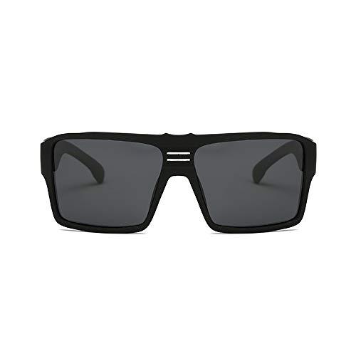 Herren Sonnenbrillen Sonnenbrille Polarisierte Linse Ultraleichte Polarisierte Sonnenbrille Fahrrad fahren Laufen Angeln Bergsteigen LTJHJD (Color : Schwarz, Size : Kostenlos)