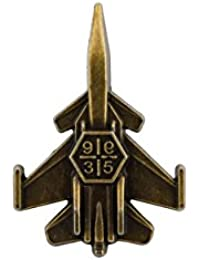 Knighthood Fighter Jet Aircraft Lapel Pin/Brooch For Men
