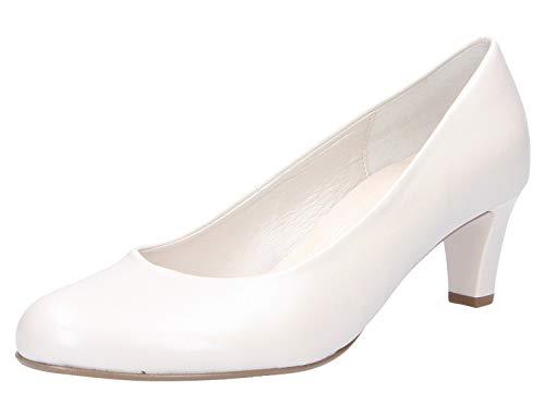Gabor Shoes Damen Basic Pumps, Weiß (Off-White(+Absatz) 80), 41 EU -