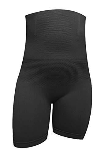 Diemme intimo guaina pancera modellante fascia a vita alta contenitiva gambe e ventre piatto (xl/xxl, nero)