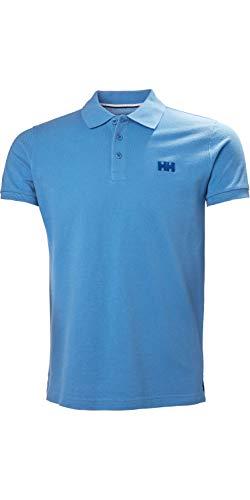 Helly Hansen Transat Polo-Shirt Cornflower Blue Kurzarm-Polo-Shirt der Marke HH für Herren - Bequem