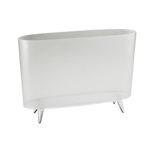 Koziol 5350535 passive holder transparent holder - holders (passive holder, transparent - white, 457 mm, 120 mm, 315 mm)