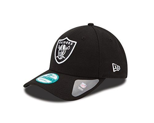New Era Herren The League 9Forty Oakland Raiders Offical Team Colour Baseball Cap, Schwarz, Einheitsgröße