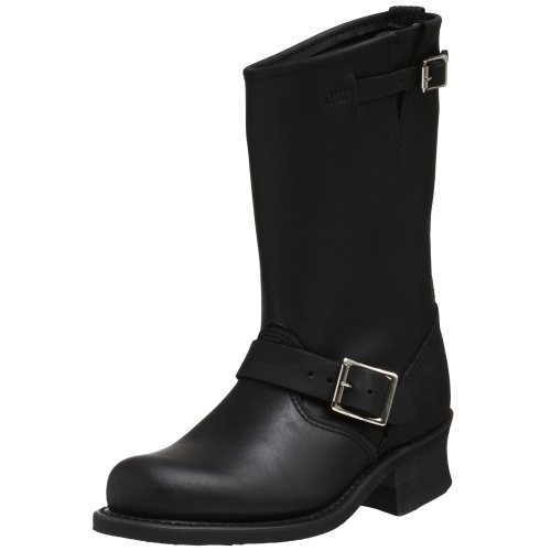 Frye - Engineer 12R, Stivale da donna Nero (Black)