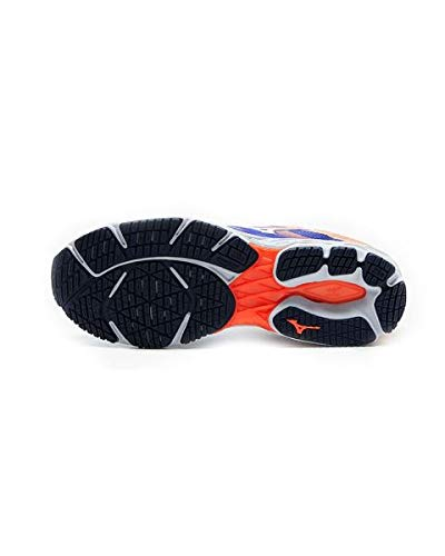 Mizuno Men Wave Shadow 2 Competition Running Shoe Running Shoes Blue - Orange 8,5