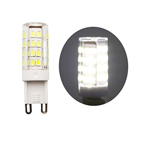 1 pezzi G9 Lampadina Lampada 5W LED 51 SMD 2835 Molto Illuminazione 400LM Bianco freddo Luce LED 6000K Angolo di visione di 360° Équivalente à 40W Lampadine AC220V
