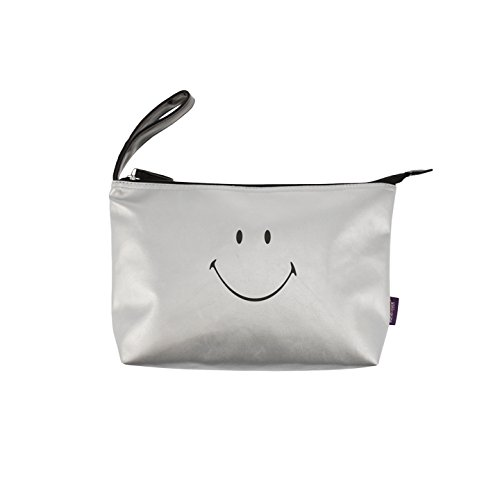 Incidence Paris Trousse ML-Smiley, 24 cm, Argent/Metallic