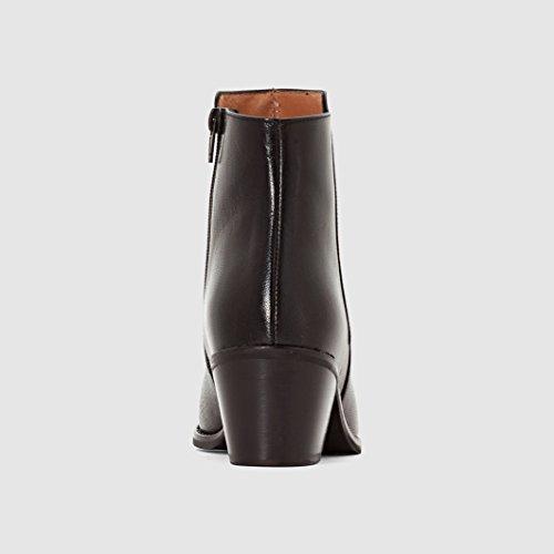 Jonak Donna Boots Pelle Con Tacco Dowly Nero