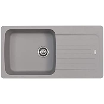 Schock Typos D150 1.5 Bowl Croma Grey Granite Kitchen Sink /& Waste